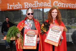 Irish Redhead Convention King & Queen