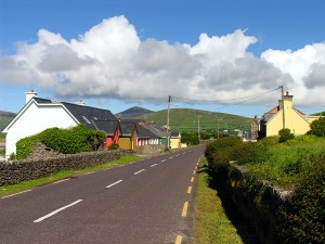 Seaside Village, Ventry by Pam Brophy