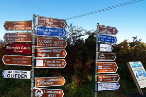 Connemara Signposts