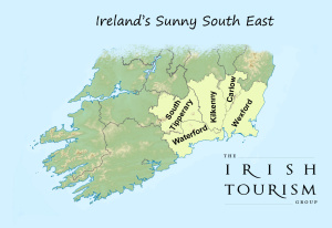 Map Of South East Ireland.Irelands Sunny South East Experience Ireland Like A Local