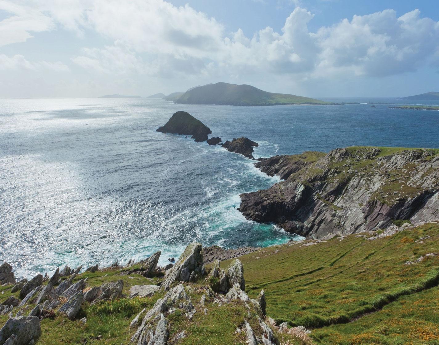 Slead Head, Dingle Peninsula, Co. Kerry. Ireland's Wild Atlantic Way