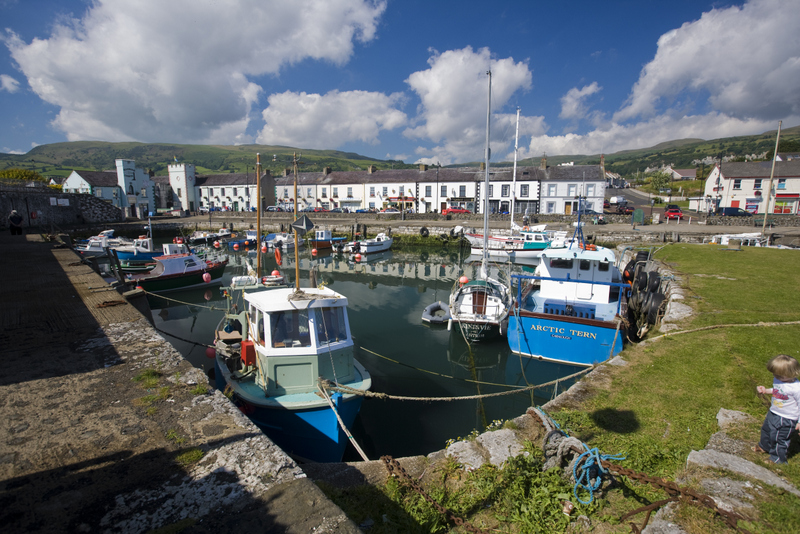 Carnlough Harbour, Causeway Coast, Northern Ireland