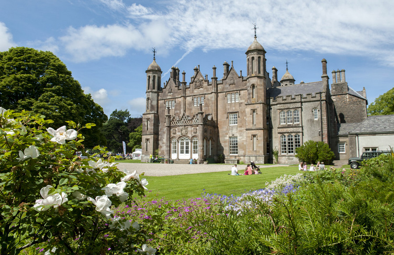 Glenarm Castle, Causeway Coast, Northern Ireland