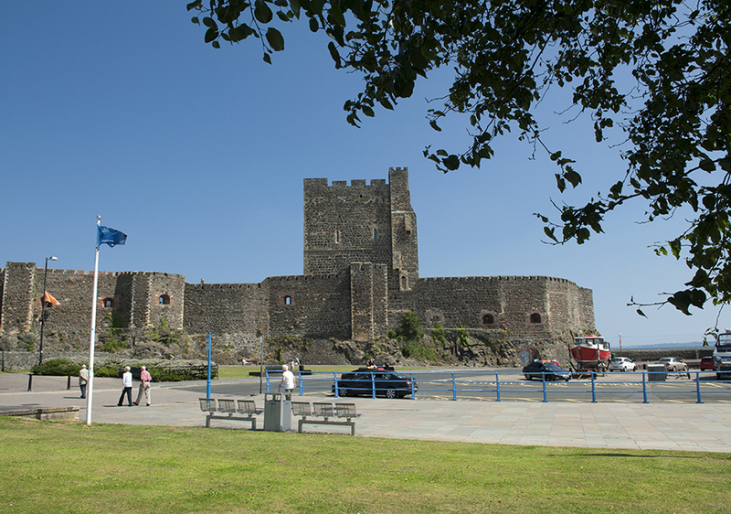 Carrickfergus Castle, Causeway Coast, Northern Ireland