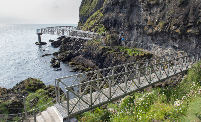 The Gobbins, Causeway Coast, Northern Ireland