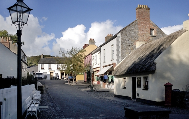 Places to visit in county Clare Bunratty Folk Village