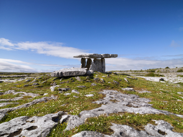 Places to visit in County Clare, Poulnabrone Dolmen