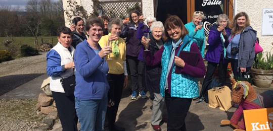 Knitting tours of Ireland