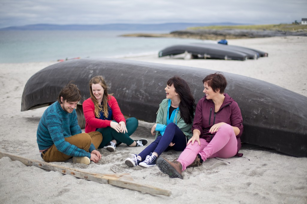 Currachs, Inisheer (Inis Oirr)