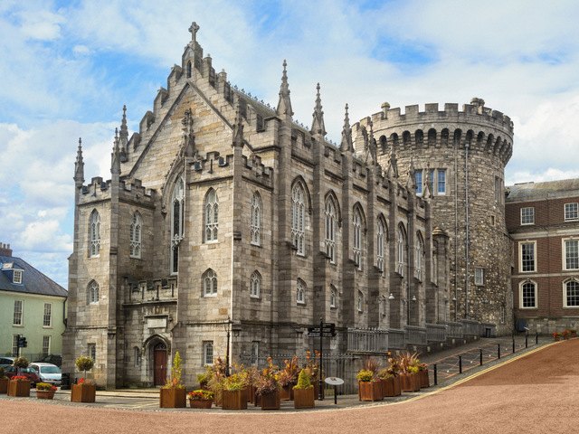 Things to do in Dublin -Exterior of Chapel Royale, Dublin Castle