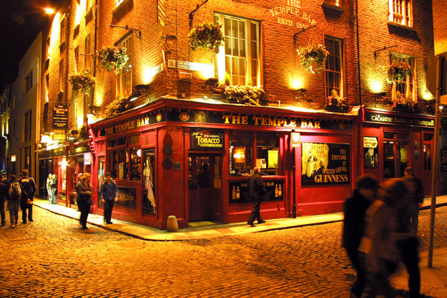 Things to do in Dublin -The Temple Bar Pub, Temple Bar