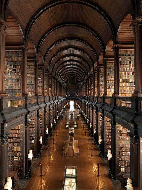 Things to do in Dublin -Trinity College Old Library