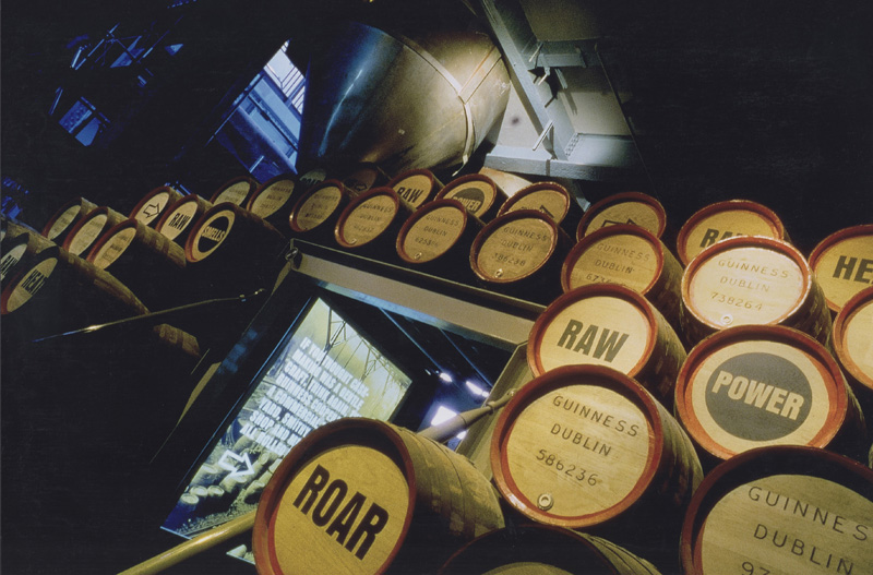Things to do in Dublin - Guinness Storehouse