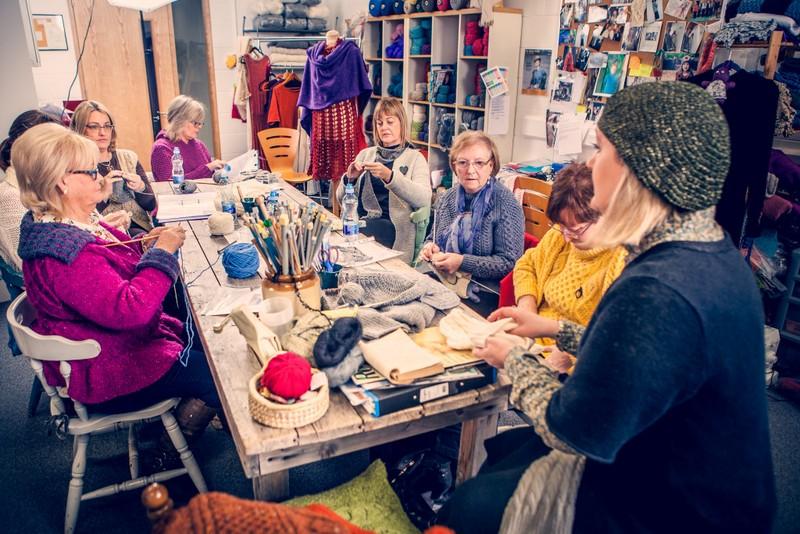 Knitting Retreats North Edel Class