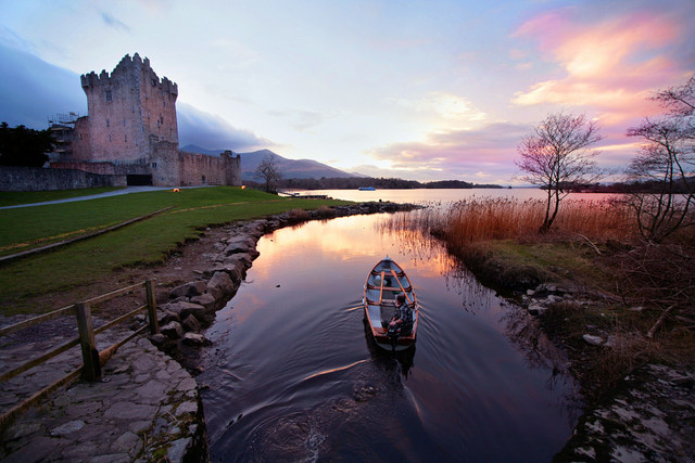 Castles in ireland to Visit - Ross Castle, County Kerry