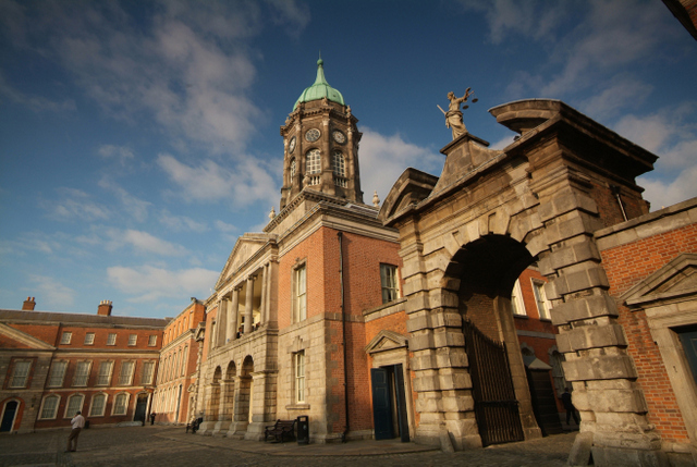 Castles in Ireland to visit - Dublin Castle, Dublin City
