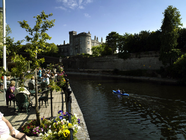 Castles in Ireland to visit. Kilkenny Castle,  Kilkenny City