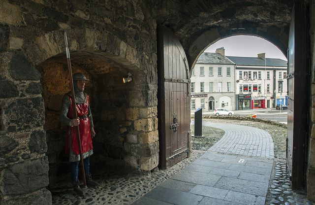 Castles in Ireland to Visit - Carrickfergus Castle, County Antrim