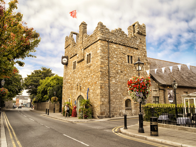 Castles in Ireland to Visit. Dalkey Castle, County Dublin