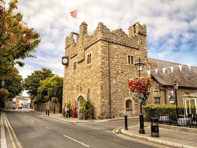 Castles in Ireland to Visit. Dalkey Castle, County Dublin