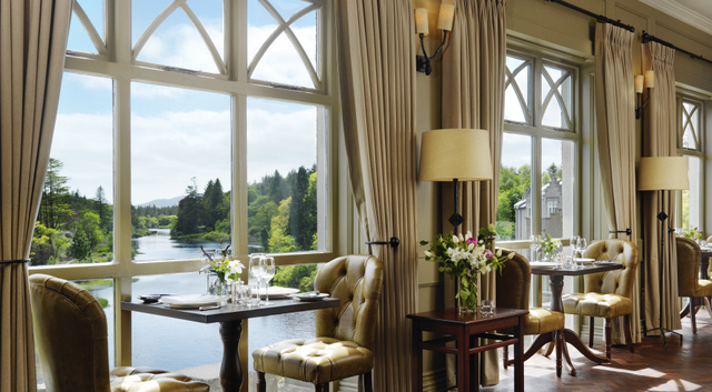 Castles in ireland to Stay In - Ballynahinch Restaurant 3 300mm Hi Res