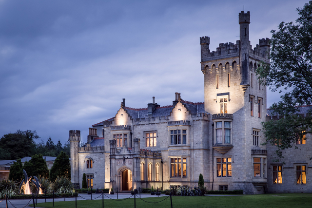 Castles in ireland to Stay In - Lough Eske Donegal Night