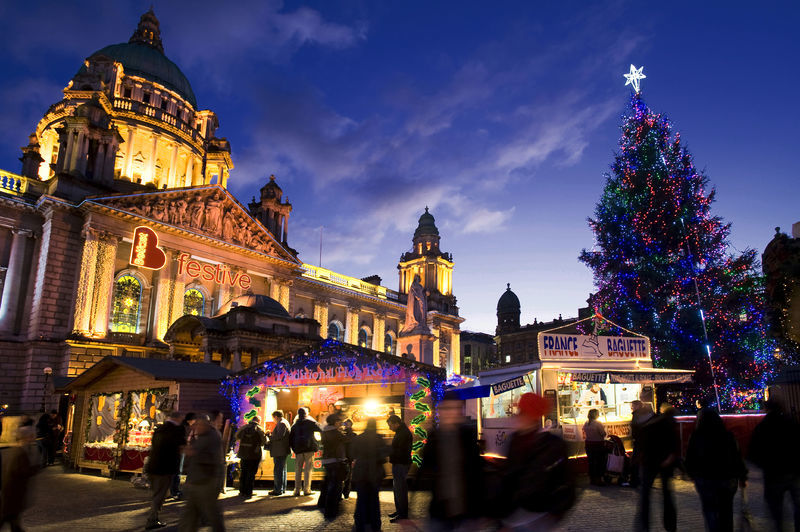 Belfast Christmas Market - Top 6 Christmas Markets in Ireland