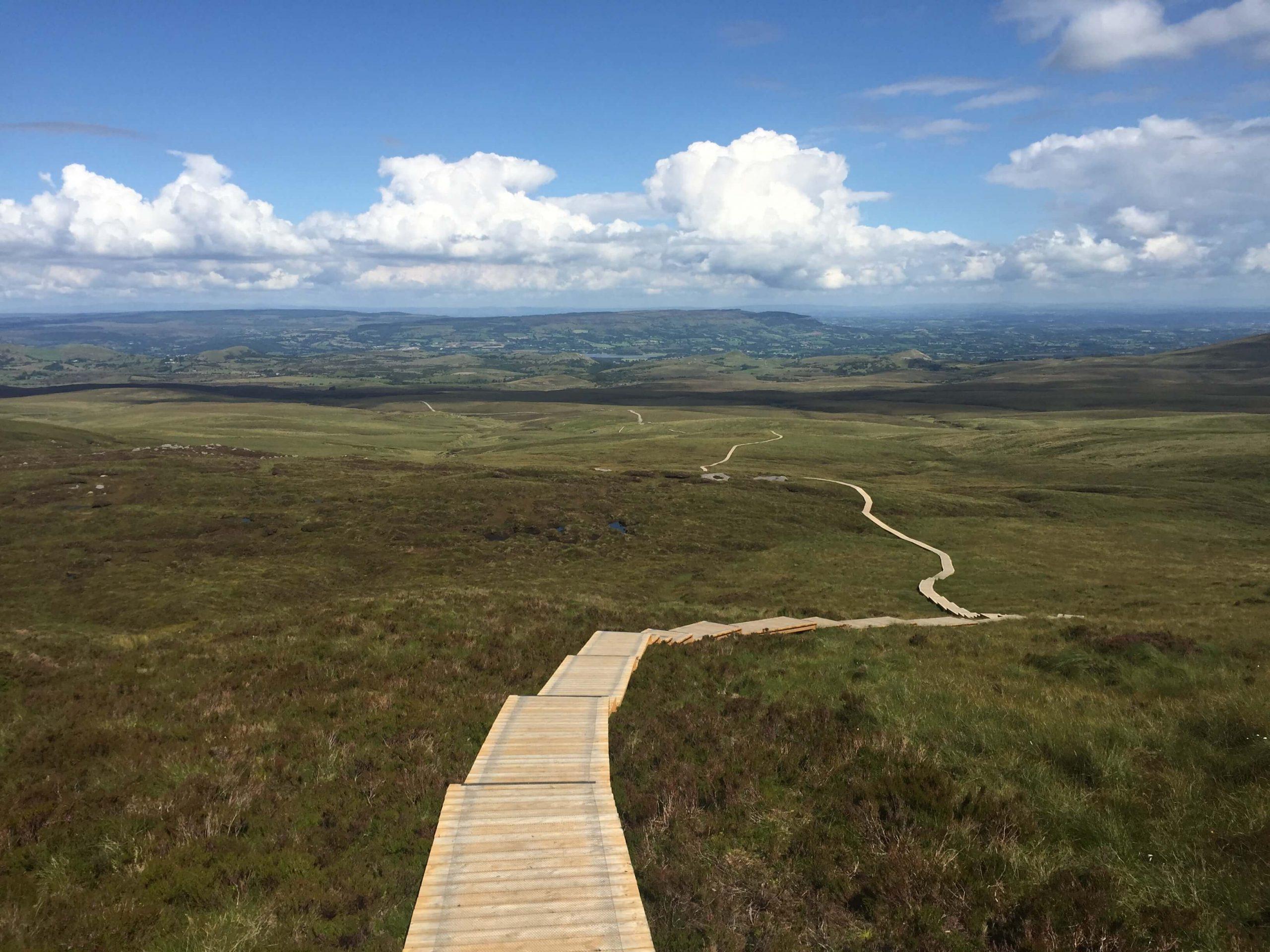 Cuilcagh Boardwalk Trail, Stairway to Heaven, Ireland Off The Beaten Path, Hidden Gems