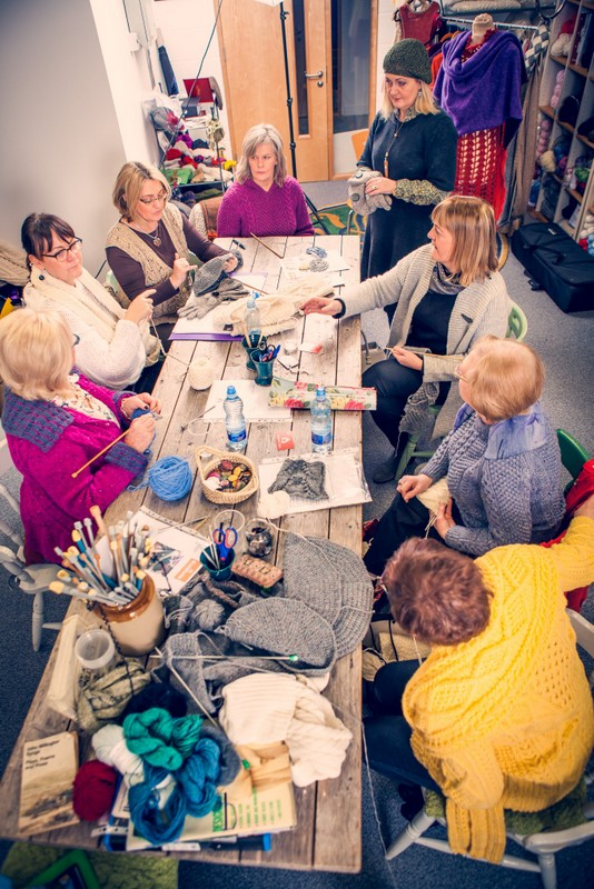 Knitting Class with Edel MacBride