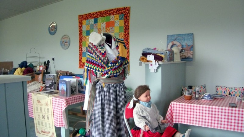 Aran Islands Dress Display (Submitted by Carol Gerling)